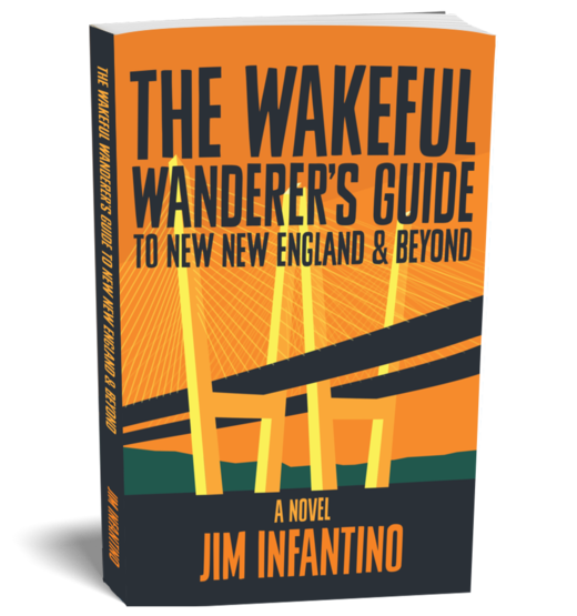 the cover of the wakeful wanderer039s guide to new new england and beyond