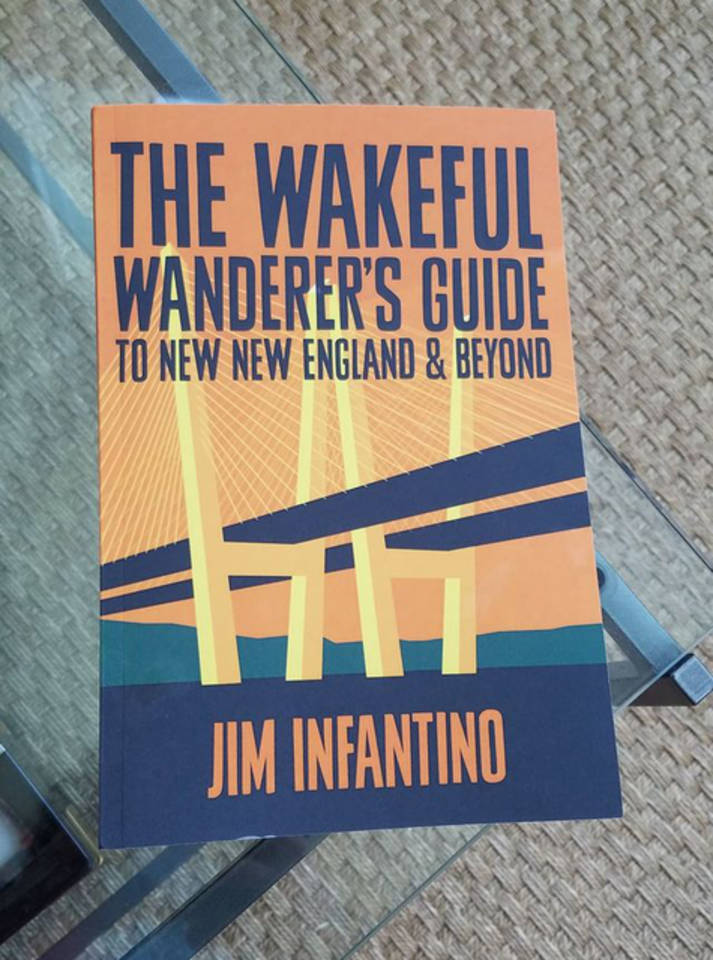 Copy of The Wakeful Wanderers Guide on coffeetable