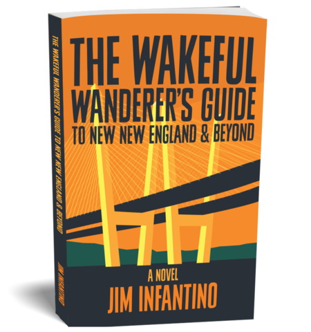 papberback of The Wakeful Wanderer039s Guide To New New England and Beyond